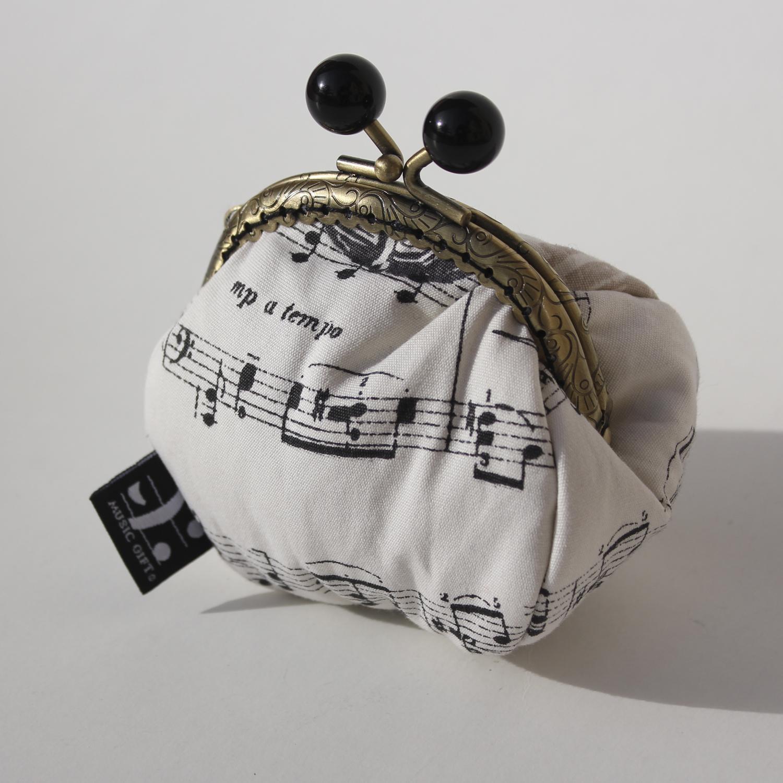 Portefeuille Motifs Music Musicaux [Change Purse]