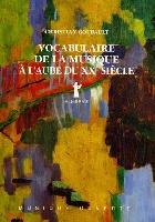 Goubault, Christian : Vocabulaire de la Musique à l