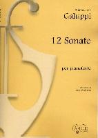 Galuppi, Baldassarre : 12 sonate di baldassarre galuppi