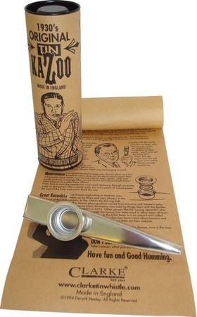 Kazoo en Métal en Etui de Luxe