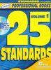 25 standards, volume 1 (instruments en clé de sol)