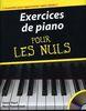 Rozenbaum, Marc : Exercices de Piano pour les Nuls