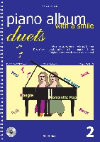 Haas, Oswin : Piano Duets Album With a Smile Vol.2
