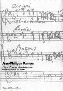 Rameau, Jean-Philippe : Livre d