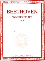 Beethoven, Ludwig van : Symphonie n° 7 en la majeur Opus 92
