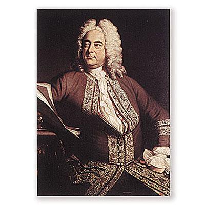 Carte Postale Händel
