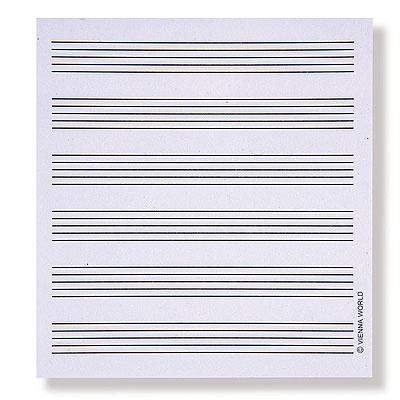 Bloc-Notes Autocollant - Petit Format - Portée