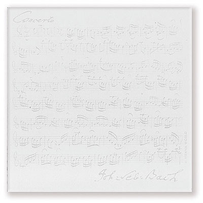 Bloc-Notes Carré - Bach