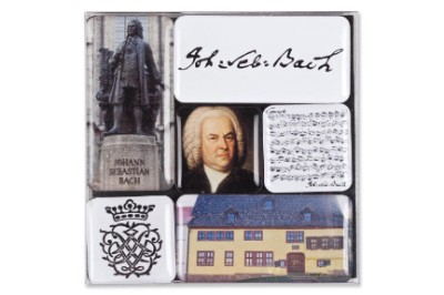Lot Minis Magnets - Bach