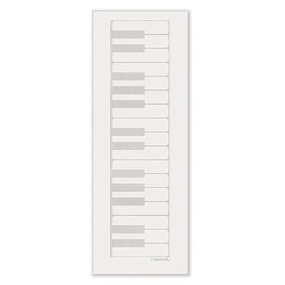 Bloc-Notes - Format Allongé - Piano