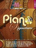 Chedid, Mathieu (M) : Piano Signature M - Numéro 5