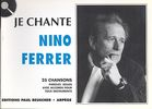 Ferrer, Nino : Je Chante Ferrer