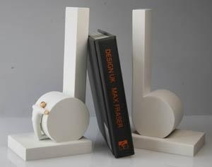 Bookends : White Crotchet
