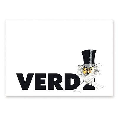 Carte Postale Humoristique Verdi