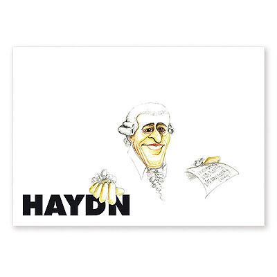 Carte Postale Humoristique Haydn