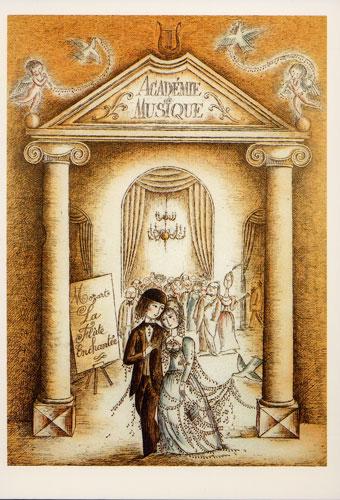 Carte Postale d\'Art `En parfaite Harmonie`