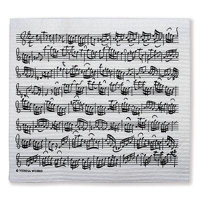 Sponge clothes Sheet Music Bach (2pcs) Bach