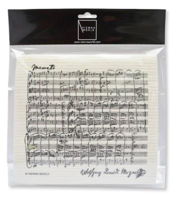 Sponge Cloth Sheet Music Mozart (2 pcs)