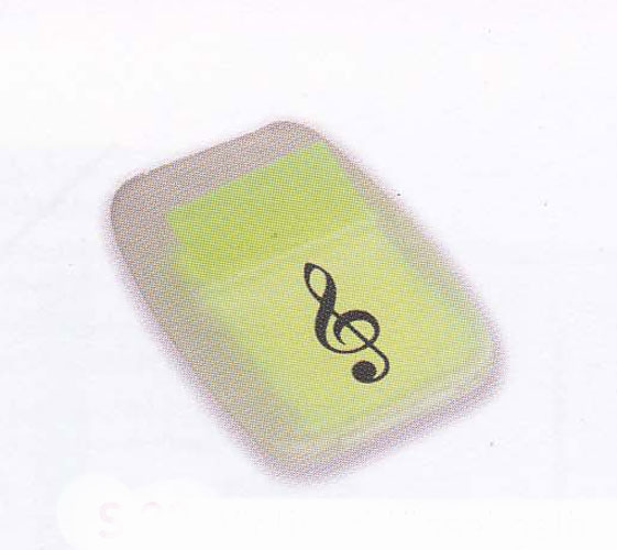 Post-It Marqueur - Clef de Sol (Jaune)