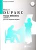 Duparc, Henri : 13 Mélodies N°2