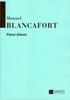 Blancafort, Manuel : Piano Album
