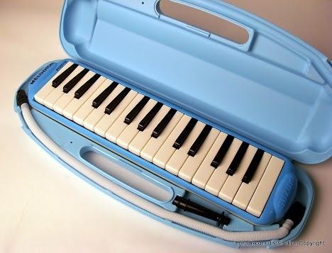 Melodica Suzuki 32 Touches Alto Study Bleu Clair