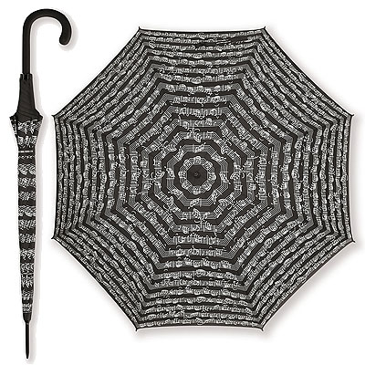 Parapluie Noir - Portée Blanche