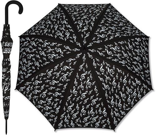 Umbrella G-clef black