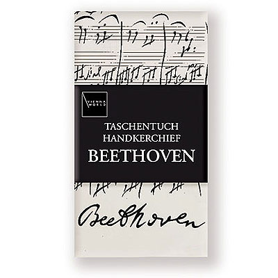 Mouchoir Tissu - Beethoven (Sonate)