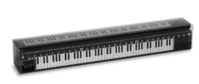 Règle - Grand Modèle - Piano (Noire)