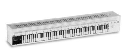 Règle - Grand Modèle - Piano (Blanche)
