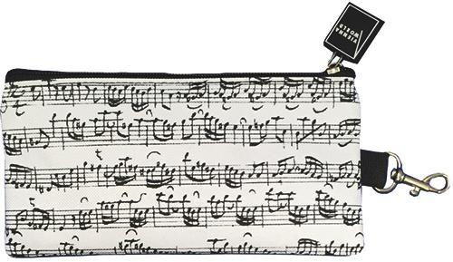 Pencil Case Sheet Music White
