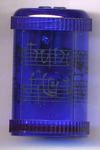 Taille-Crayons - Portée (Bleu)