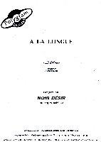 Cantat, Bertrand / Noir Désir : A La Longue