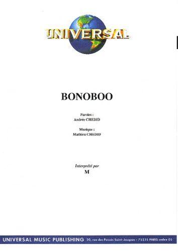 Chedid, Mathieu : Bonoboo
