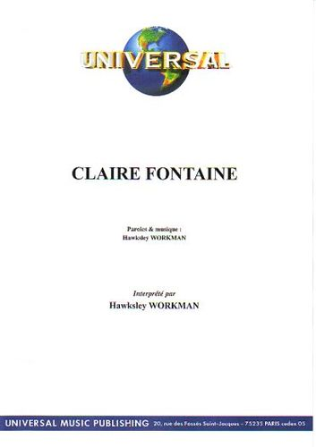 Workman, Hawksley : Claire Fontaine