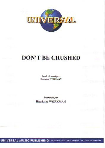 Workman, Hawksley : Don