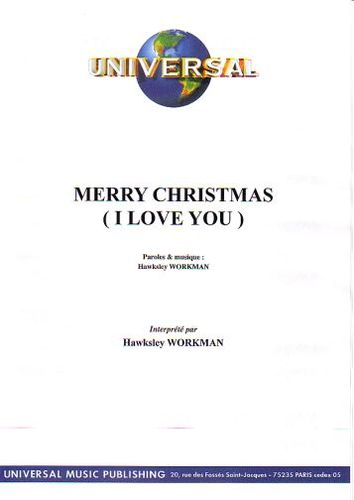Workman, Hawksley : Merry Christmas (I Love You)
