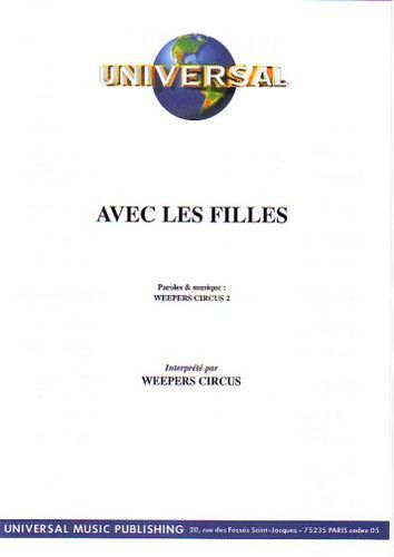 Weepers Circus : Avec Les Filles