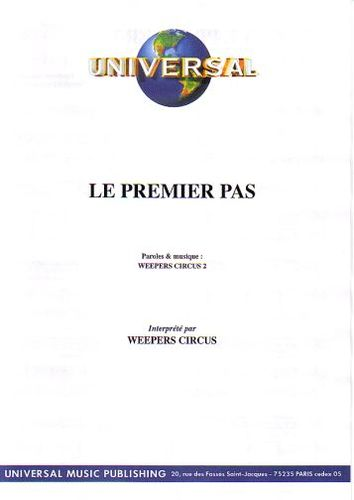 Weepers Circus : Le Premier Pas
