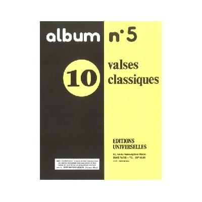 Album N°5 ? 10 Valses Classiques