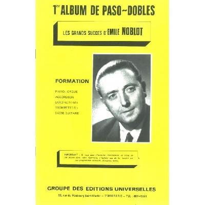 Noblot, Émilie : 1er Album De Paso Dobles ? Les Grands Succès D
