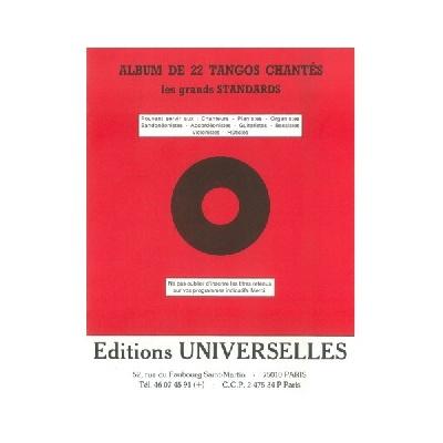 Album De 22 Tangos Chantés – Les Grands Standars