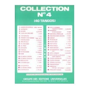 Collection N°4 - 40 Tangos