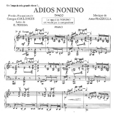 Piazzolla, Astor : Adios Nonino ? Pigmalion