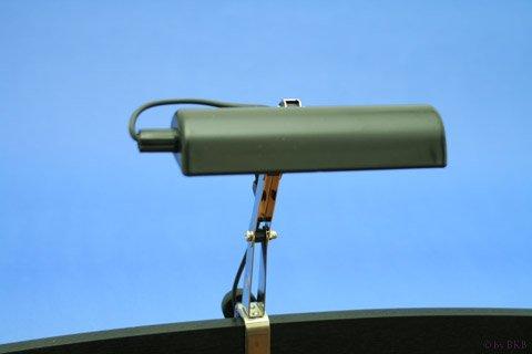 Lampe de Pupitre - Noire Mat - 1 Flamme