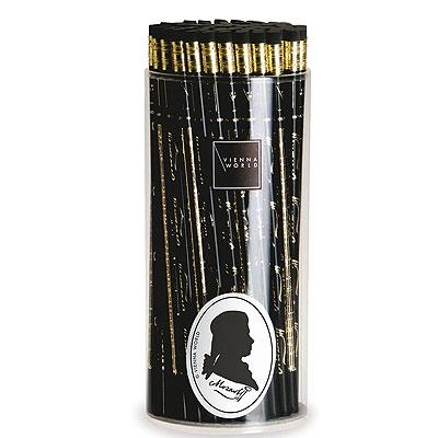 Crayon à Papier - Mozart (Noir and Or)