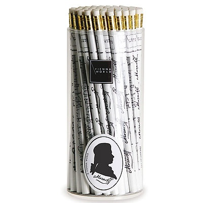 Crayon à Papier - Mozart (Noir and Blanc)