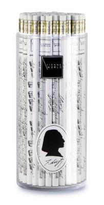 Crayon à Papier - Liszt (Blanc and Noir)