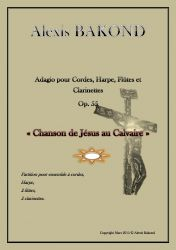 Bakond, alexis: Adagio pour cordes, harpe, flûtes et clarinettes